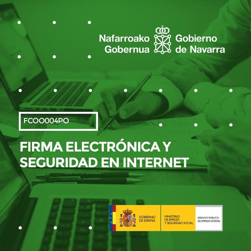 FCOO004PO - FIRMA ELECTRÓNICA Y SEGURIDAD EN INTERNET