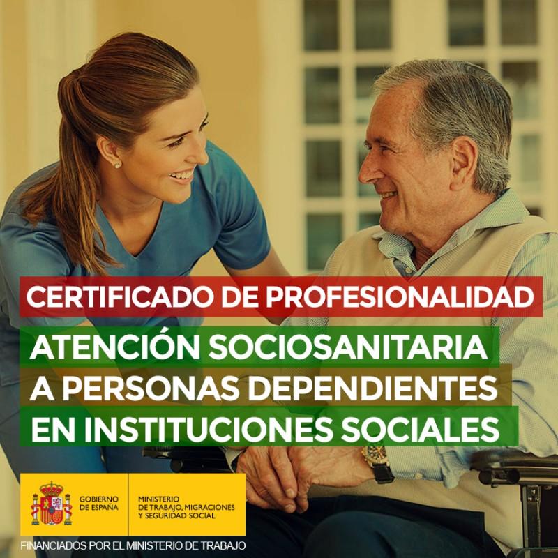 ATENCIÓN SOCIOSANITARIA A PERSONAS DEPENDIENTES EN INSTITUCIONES SOCIALES (SSCS0208)