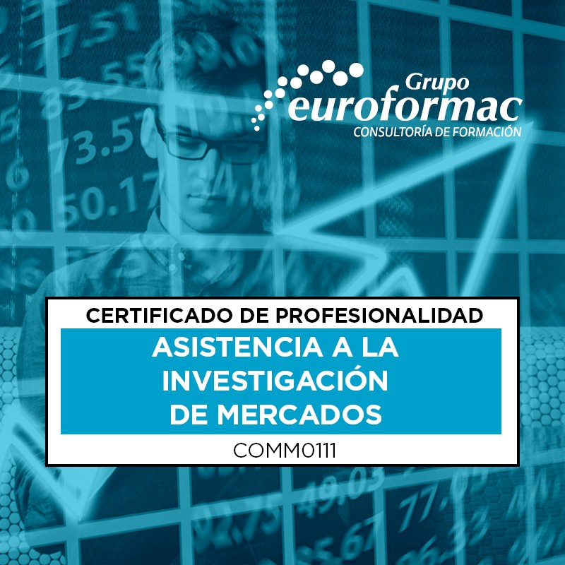 ASISTENCIA A LA INVESTIGACIÓN DE MERCADOS (COMM0111)