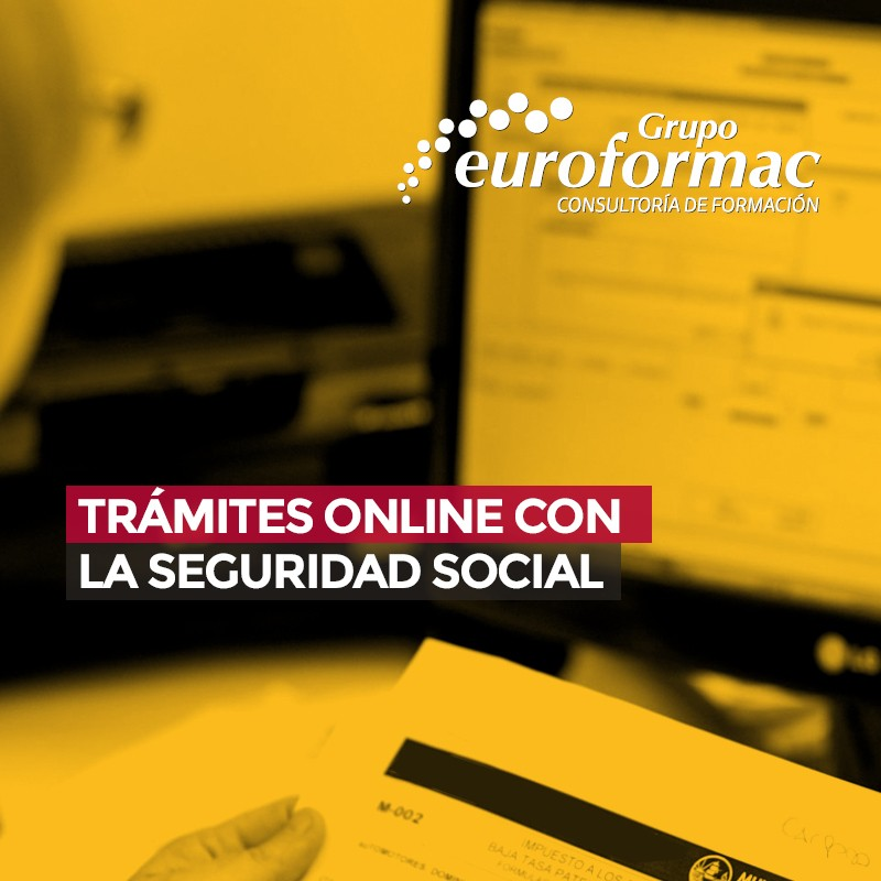 TRÁMITES ON LINE CON LA SEGURIDAD SOCIAL