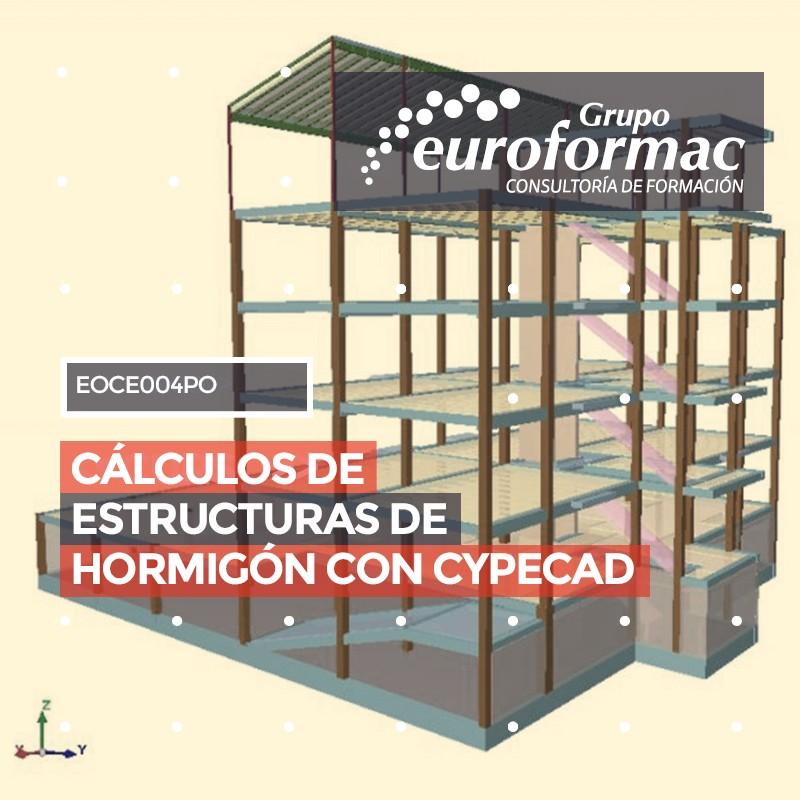 CÁLCULOS DE ESTRUCTURAS DE HORMIGÓN CON CYPECAD