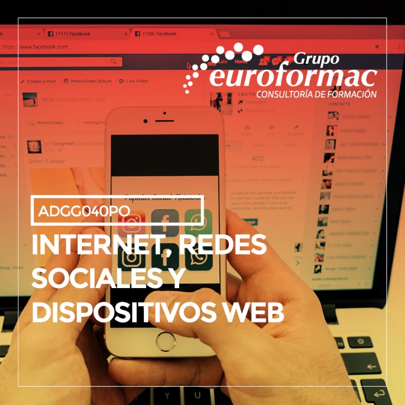 INTERNET, REDES SOCIALES Y DISPOSITIVOS WEB