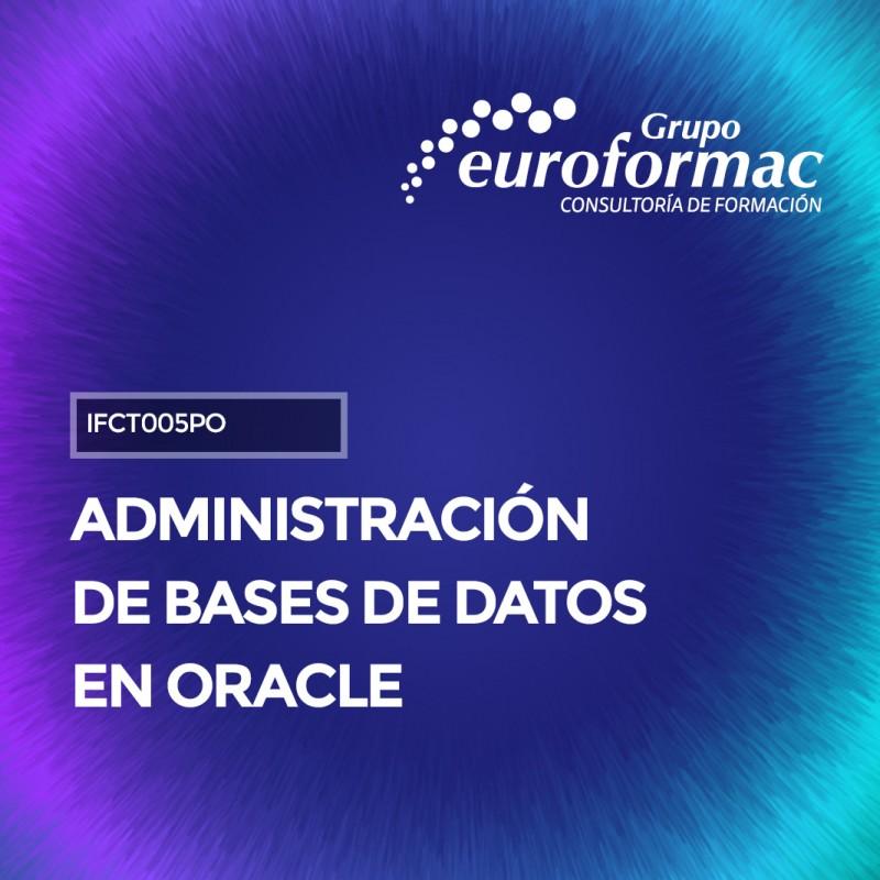 ADMINISTRACIÓN DE BASES DE DATOS EN ORACLE
