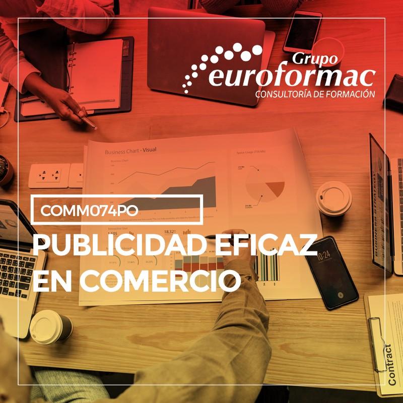 PUBLICIDAD EFICAZ EN COMERCIO