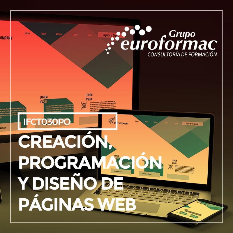 CREACIÓN, PROGRAMACIÓN Y DISEÑO DE PÁGINAS WEB