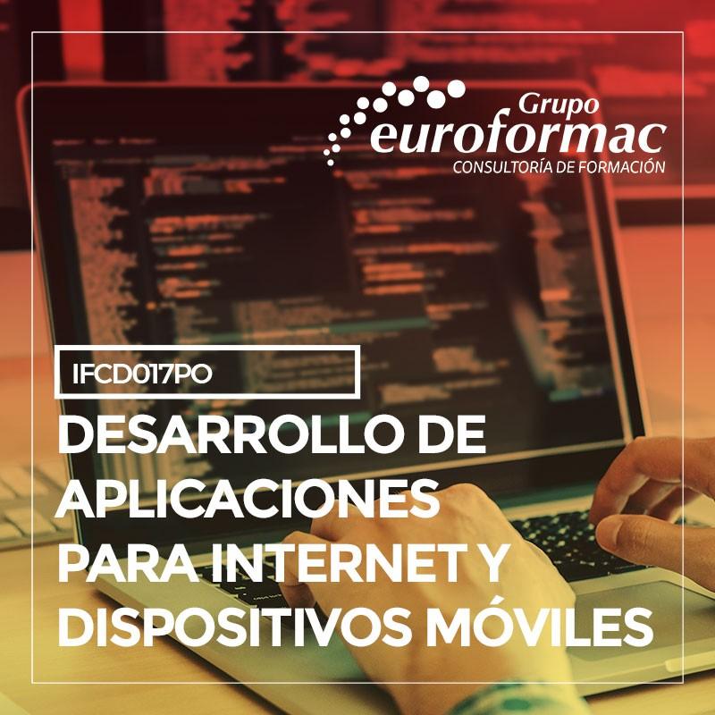 DESARROLLO DE APLICACIONES PARA INTERNET Y DISPOSITIVOS MÓVILES