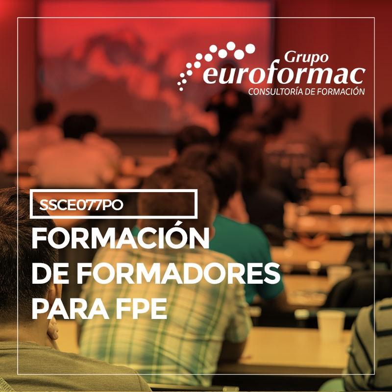 FORMACIÓN DE FORMADORES PARA FPE