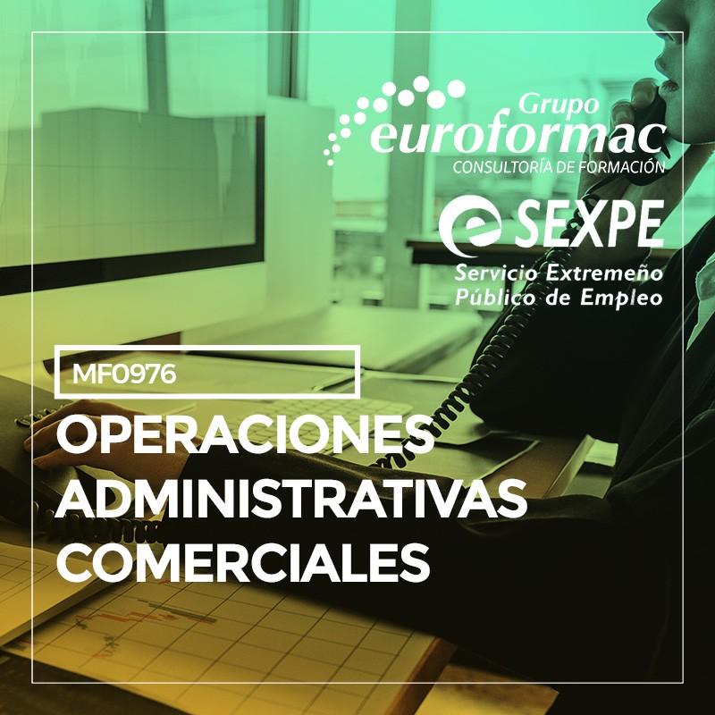 (MF0976_2) OPERACIONES ADMINISTRATIVAS COMERCIALES