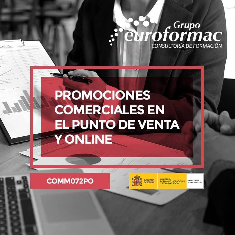 PROMOCIONES COMERCIALES EN EL PUNTO DE VENTA Y ONLINE