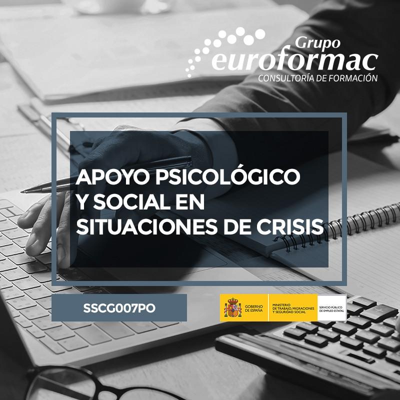 APOYO PSICOLÓGICO Y SOCIAL EN SITUACIONES DE CRISIS