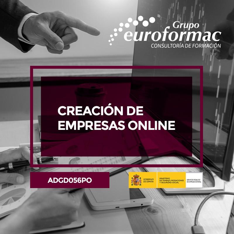 CREACIÓN DE EMPRESAS ONLINE (Servicios a las Empresas)