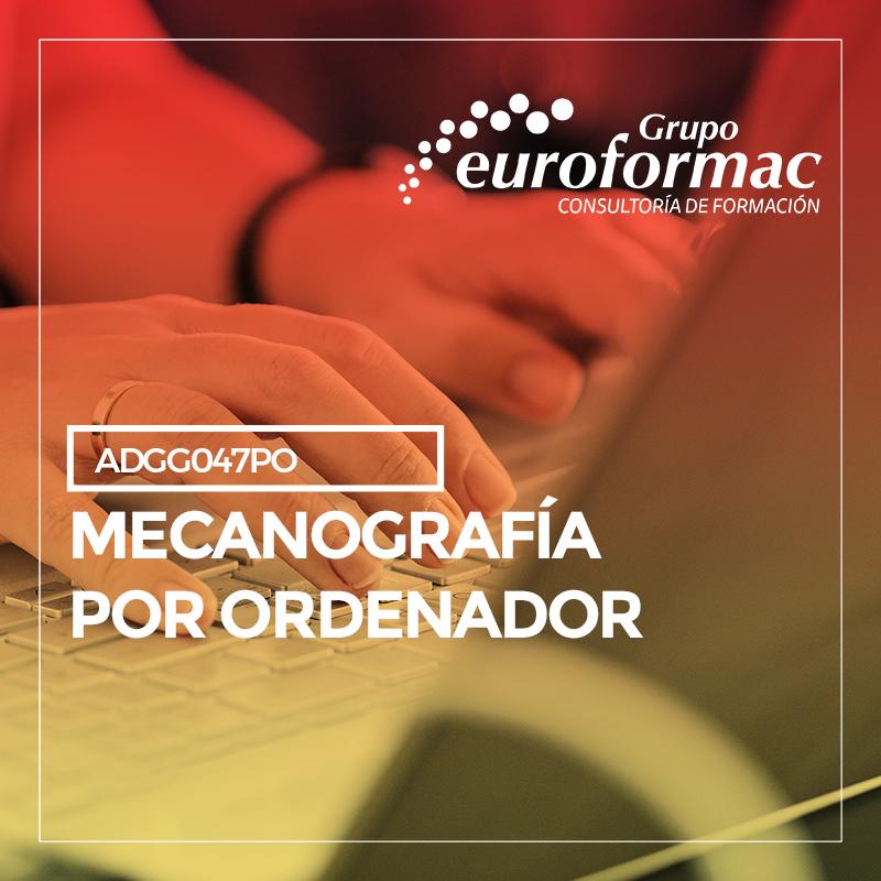 MECANOGRAFÍA POR ORDENADOR