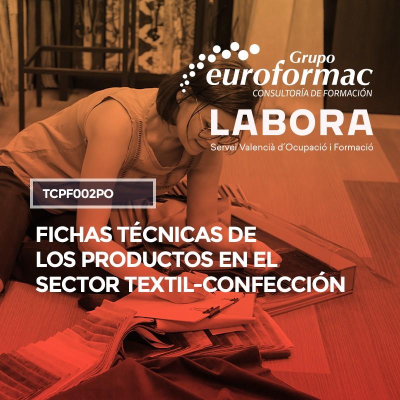 FICHAS TÉCNICAS DE LOS PRODUCTOS EN EL SECTOR TEXTIL Y CONFECCIÓN