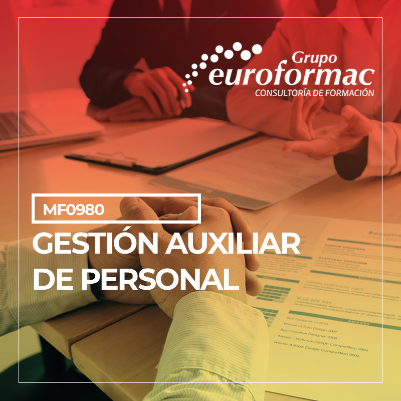 GESTIÓN AUXILIAR DE PERSONAL (MF0980_2)