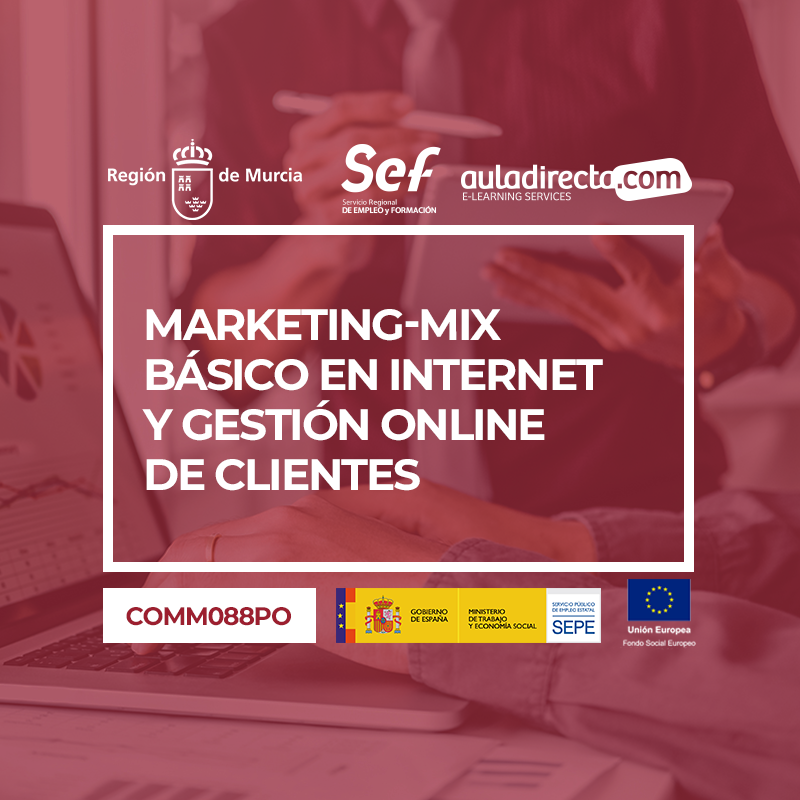 MARKETING-MIX BÁSICO EN INTERNET Y GESTIÓN ONLINE DE CLIENTES