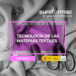 TECNOLOGÍA DE LAS MATERIAS TEXTILES