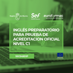 INGLÉS PREPARATORIO PARA PRUEBA DE ACREDITACIÓN OFICIAL NIVEL C1