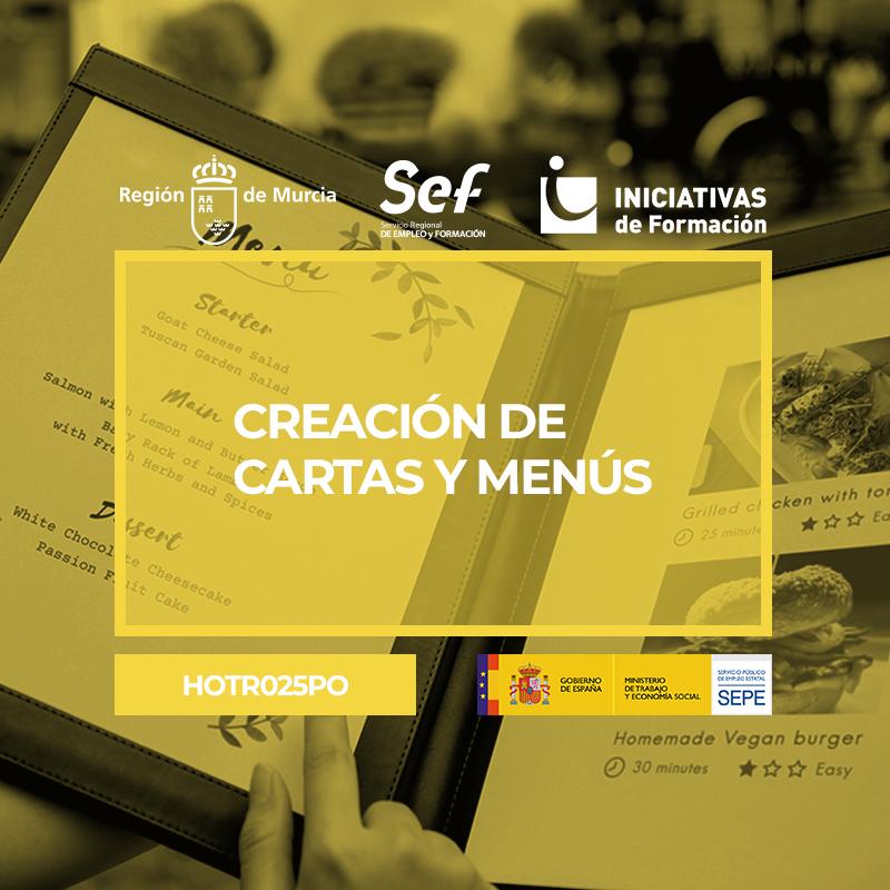 CREACIÓN DE CARTAS Y MENÚS