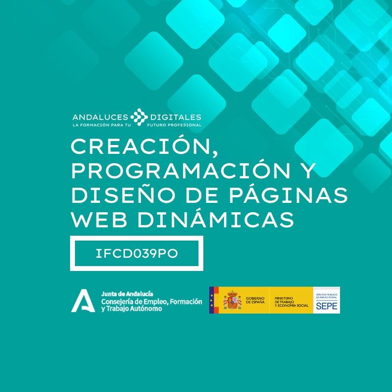 CREACIÓN, PROGRAMACIÓN Y DISEÑO DE PÁGINAS WEB DINÁMICAS