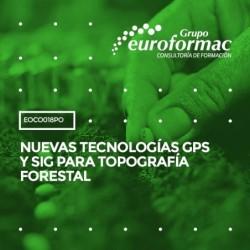EOCO018PO - NUEVAS TECNOLOGÍAS GPS Y SIG PARA TOPOGRAFÍA FORESTAL--ONLINE  30 horas