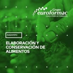INAD011PO - ELABORACIÓN Y CONSERVACIÓN DE ALIMENTOS--ONLINE  30 horas