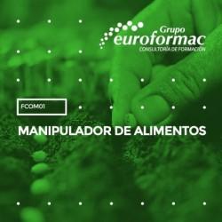 FCOM01 - MANIPULADOR DE ALIMENTOS--PRESENCIAL  10 horas