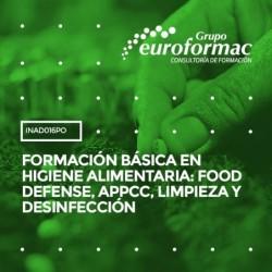 INAD016PO - FORMACIÓN BÁSICA EN HIGIENE ALIMENTARIA: FOOD DEFENSE