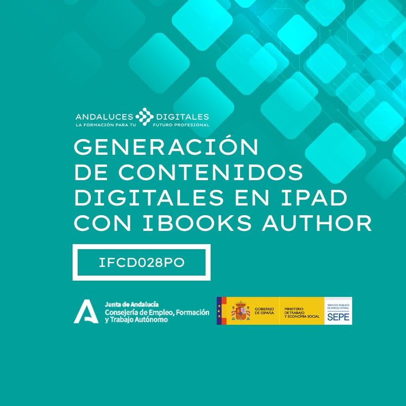 GENERACIÓN DE CONTENIDOS DIGITALES EN IPAD CON IBOOKS AUTHOR