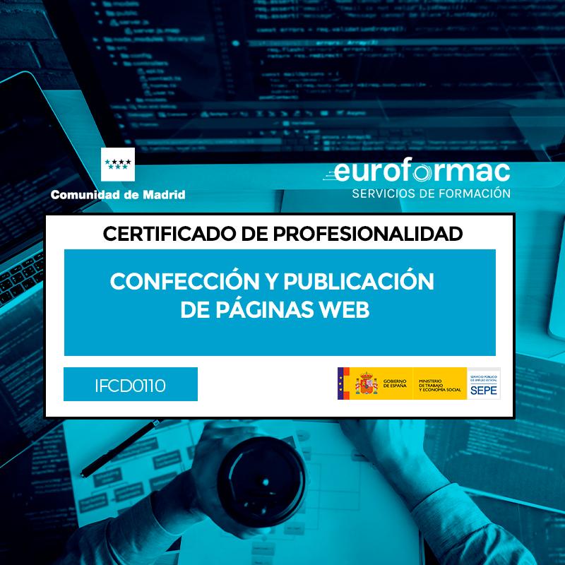IFCD0110 - CONFECCIÓN Y PUBLICACIÓN DE PÁGINAS WEB
