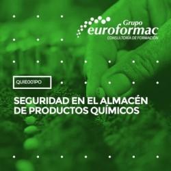 QUIE001PO - SEGURIDAD EN EL ALMACÉN DE PRODUCTOS QUÍMICOS--ONLINE  10 horas