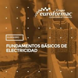 ELEE003PO - FUNDAMENTOS BÁSICOS DE ELECTRICIDAD--ONLINE  60 horas