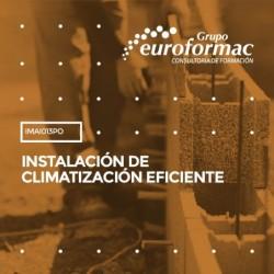 IMAI013PO - INSTALACIÓN DE CLIMATIZACIÓN EFICIENTE--ONLINE  60 horas