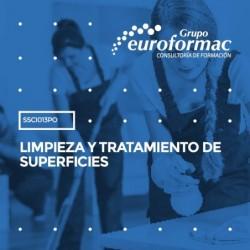 SSCI013PO - LIMPIEZA Y TRATAMIENTO DE SUPERFICIES--PRESENCIAL  10 horas