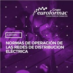 ELEE013PO - NORMAS DE OPERACIÓN DE LAS REDES DE DISTRIBUCION ELÉCTRICA--ONLINE  30 horas
