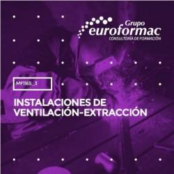 MF1165_3 - Instalaciones de ventilación-extracción--PRESENCIAL  40 horas