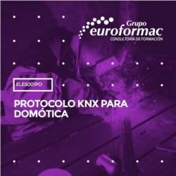 ELES001PO - PROTOCOLO KNX PARA DOMÓTICA--ONLINE  40 horas