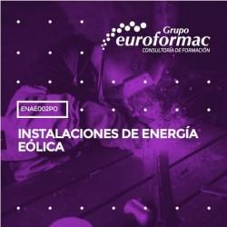ENAE002PO - INSTALACIONES DE ENERGÍA EÓLICA--ONLINE  100 horas