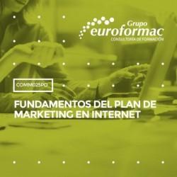 COMM025PO - FUNDAMENTOS DEL PLAN DE MARKETING EN INTERNET--ONLINE  30 horas