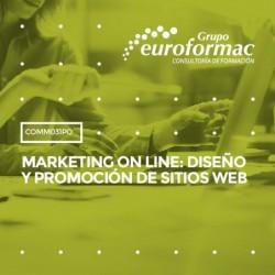 COMM031PO - MARKETING ON LINE: DISEÑO Y PROMOCIÓN DE SITIOS WEB--ONLINE  30 horas