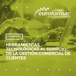 COMM087PO - HERRAMIENTAS TECNOLÓGICAS AL SERVICIO DE LA GESTIÓN COMERCIAL DE CLIENTES--ONLINE  60 horas
