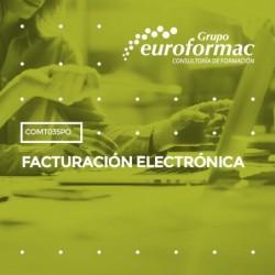 COMT035PO - FACTURACIÓN ELECTRÓNICA--ONLINE  80 horas