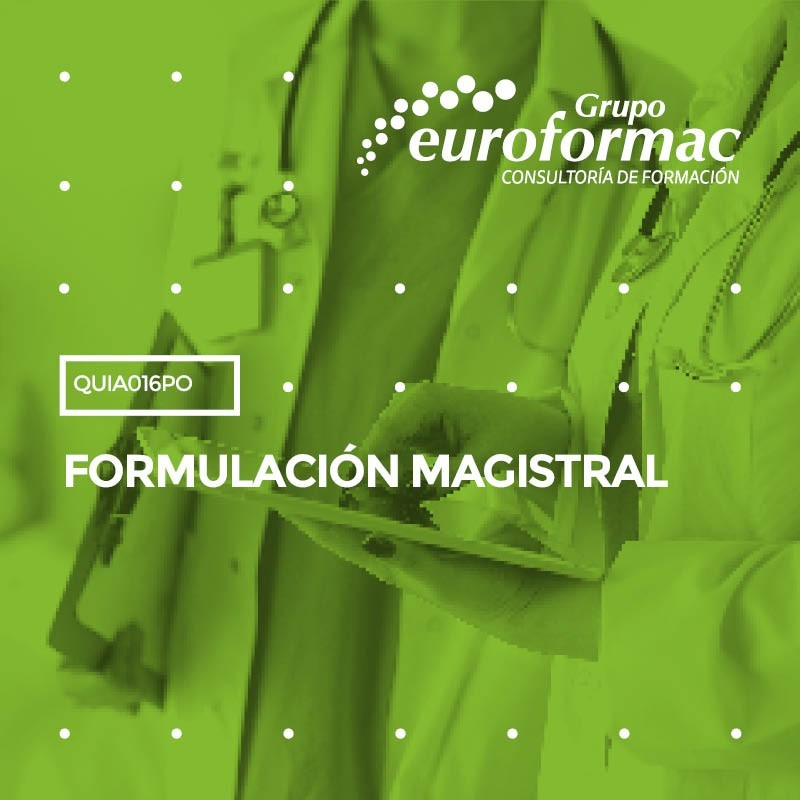 FORMULACIÓN MAGISTRAL