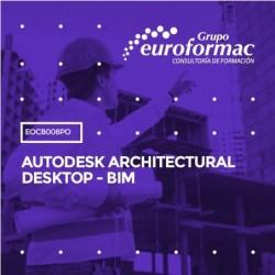 EOCB008PO - AUTODESK ARCHITECTURAL DESKTOP - BIM--ONLINE  50 horas