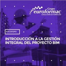 EOCO012PO - INTRODUCCIÓN A LA GESTIÓN INTEGRAL DEL PROYECTO BIM--ONLINE  50 horas