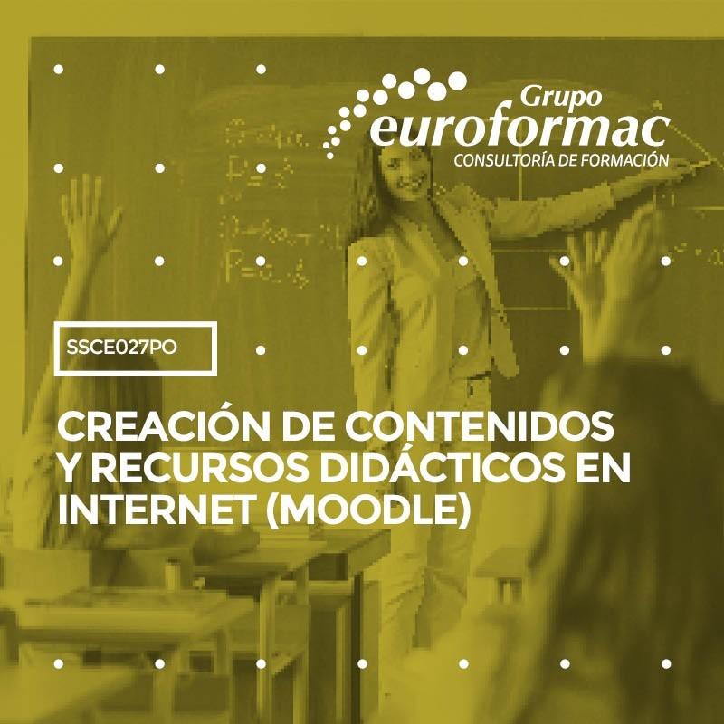 CREACIÓN DE CONTENIDOS Y RECURSOS DIDÁCTICOS EN INTERNET (MOODLE)