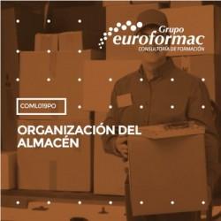 COML019PO - ORGANIZACIÓN DEL ALMACÉN--ONLINE  30 horas