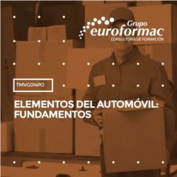 TMVG014PO - ELEMENTOS DEL AUTOMÓVIL: FUNDAMENTOS--ONLINE  20 horas