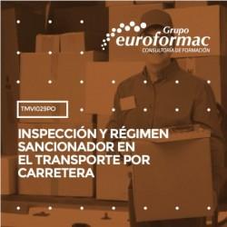 TMVI029PO - INSPECCIÓN Y RÉGIMEN SANCIONADOR EN EL TRANSPORTE POR CARRETERA--ONLINE  30 horas