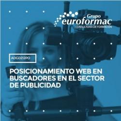 ADGD212PO - POSICIONAMIENTO WEB EN BUSCADORES EN EL SECTOR DE PUBLICIDAD--ONLINE  105 horas