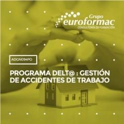 ADGN094PO - PROGRAMA DELT@ : GESTIÓN DE ACCIDENTES DE TRABAJO--ONLINE  30 horas